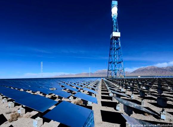 """China podría suministrar a Europa electricidad """"verde"""""""
